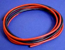 Silicon Wire 16 Gauge Red/Black