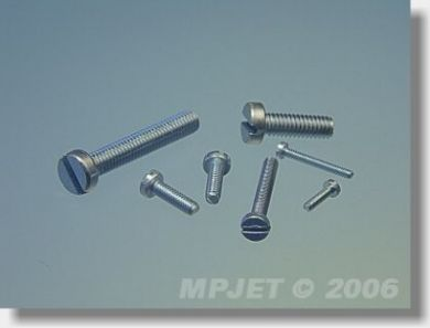 MP Jet Pan Head Screw M2, 5 x 12 10 pcs