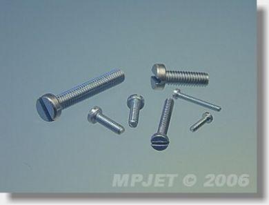 MP Jet Pan Head Screw M3 x 8 10 pcs