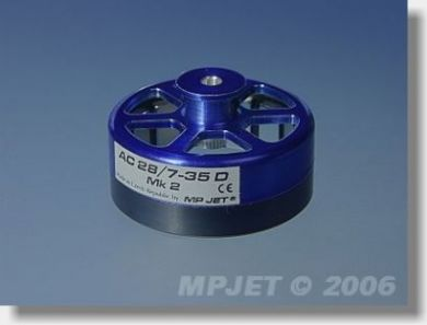 MP Jet Rotor for 28/7-35D Mk 2 Complete