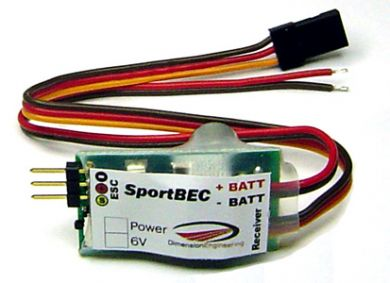 DE SportBEC Switch-Mode BEC 5-6V