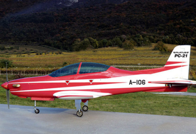 Sebart Pilatus PC21 50 Class Scale Red/White Version