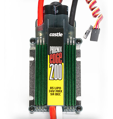 Castle Phoenix Edge 200 Amp ESC