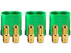 Castle 6.5mm Polarized Connectors - Male Multi Pack