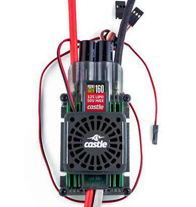 Castle Phoenix Edge 160 HV with Cooling Fan