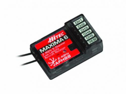 Hitec Maxima 6 - 6-Channel Micro Receiver