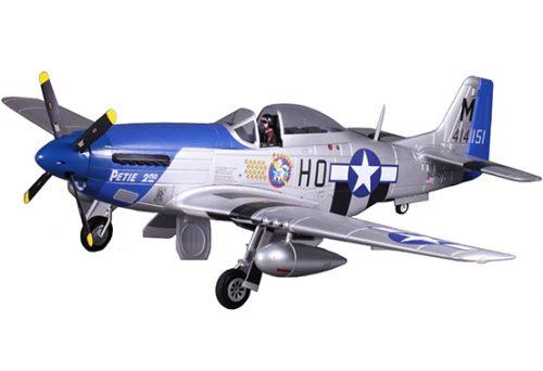 """FMS P-51D Mustang V8 Petie 2nd 1450mm (57"""") Wingspan  PNP"""