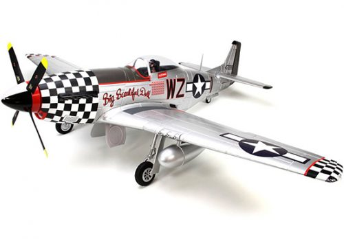 """FMS P-51D Mustang V8 Big Beautiful Doll 1450mm (57"""") Wingspan PNP"""