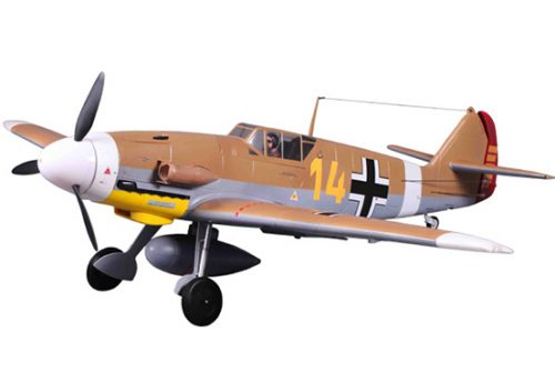 FMS BF-109F Brown 1400mm PNP