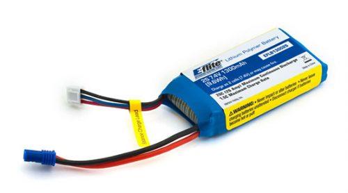 E-flite 1300mAh 2S 20C Lipo