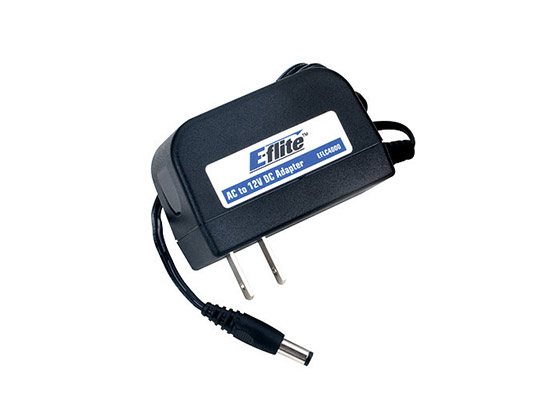 E-Flite AC to12V DC,1.5 Amp Power Supply 240V