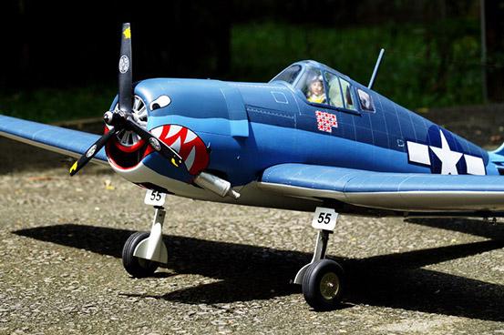 VQ Models F6F Hellcat 1580mm 46 Size