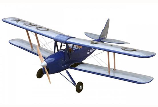 70f275b66 VQ Models Tiger Moth DH-82 ARF 46 Size - Wired RC